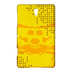 Texture Yellow Abstract Background Samsung Galaxy Tab S (8 4 ) Hardshell Case