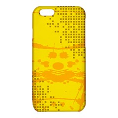 Texture Yellow Abstract Background iPhone 6/6S TPU Case