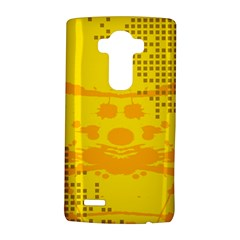 Texture Yellow Abstract Background Lg G4 Hardshell Case