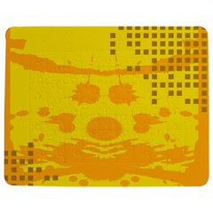 Texture Yellow Abstract Background Jigsaw Puzzle Photo Stand (Rectangular)