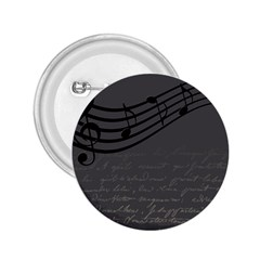 Music Clef Background Texture 2.25  Buttons