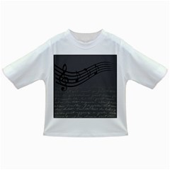 Music Clef Background Texture Infant/Toddler T-Shirts