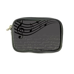 Music Clef Background Texture Coin Purse