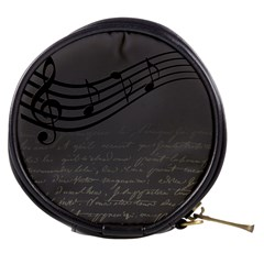 Music Clef Background Texture Mini Makeup Bags