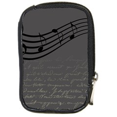 Music Clef Background Texture Compact Camera Cases