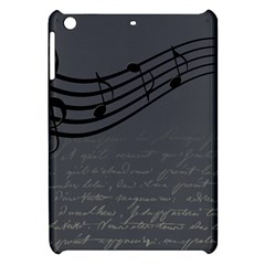Music Clef Background Texture Apple Ipad Mini Hardshell Case