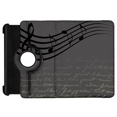 Music Clef Background Texture Kindle Fire Hd 7