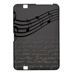 Music Clef Background Texture Kindle Fire Hd 8 9