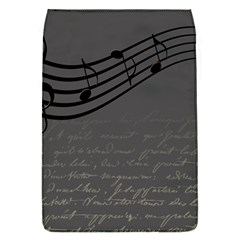 Music Clef Background Texture Flap Covers (s)