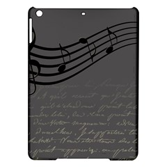 Music Clef Background Texture iPad Air Hardshell Cases