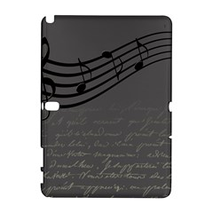 Music Clef Background Texture Galaxy Note 1