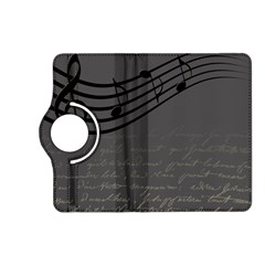 Music Clef Background Texture Kindle Fire HD (2013) Flip 360 Case