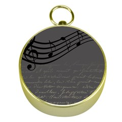 Music Clef Background Texture Gold Compasses