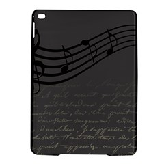 Music Clef Background Texture iPad Air 2 Hardshell Cases