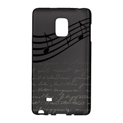 Music Clef Background Texture Galaxy Note Edge