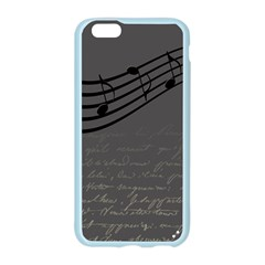 Music Clef Background Texture Apple Seamless iPhone 6/6S Case (Color)