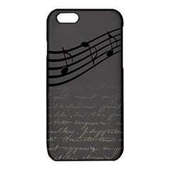 Music Clef Background Texture iPhone 6/6S TPU Case