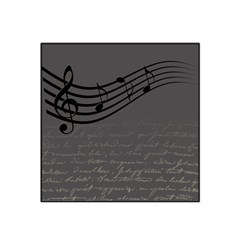 Music Clef Background Texture Satin Bandana Scarf