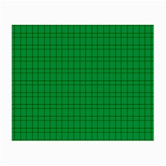Pattern Green Background Lines Small Glasses Cloth (2 Side)