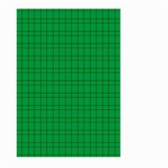 Pattern Green Background Lines Large Garden Flag (two Sides)