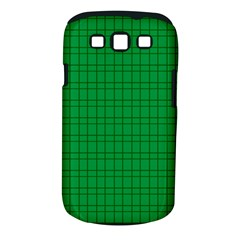 Pattern Green Background Lines Samsung Galaxy S Iii Classic Hardshell Case (pc+silicone)