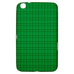 Pattern Green Background Lines Samsung Galaxy Tab 3 (8 ) T3100 Hardshell Case