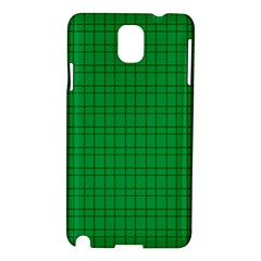 Pattern Green Background Lines Samsung Galaxy Note 3 N9005 Hardshell Case