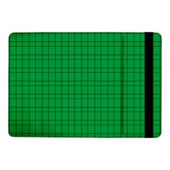 Pattern Green Background Lines Samsung Galaxy Tab Pro 10.1  Flip Case
