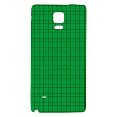 Pattern Green Background Lines Galaxy Note 4 Back Case