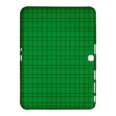Pattern Green Background Lines Samsung Galaxy Tab 4 (10 1 ) Hardshell Case