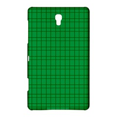 Pattern Green Background Lines Samsung Galaxy Tab S (8.4 ) Hardshell Case