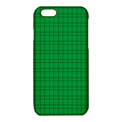 Pattern Green Background Lines iPhone 6/6S TPU Case