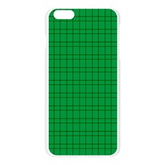 Pattern Green Background Lines Apple Seamless iPhone 6 Plus/6S Plus Case (Transparent)