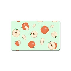 Apple Fruit Background Food Magnet (name Card)