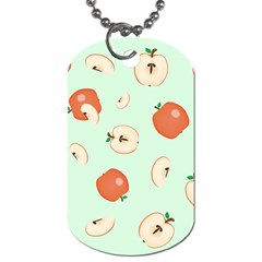 Apple Fruit Background Food Dog Tag (One Side)