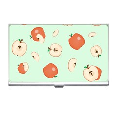 Apple Fruit Background Food Business Card Holders