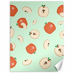 Apple Fruit Background Food Canvas 36  X 48