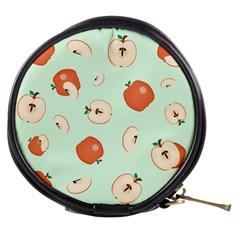 Apple Fruit Background Food Mini Makeup Bags