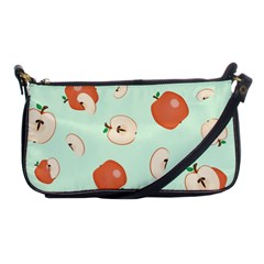 Apple Fruit Background Food Shoulder Clutch Bags