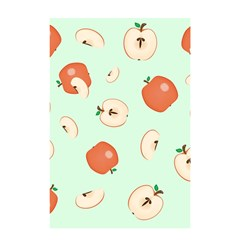Apple Fruit Background Food Shower Curtain 48  x 72  (Small)