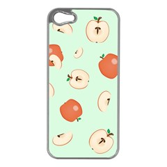 Apple Fruit Background Food Apple iPhone 5 Case (Silver)