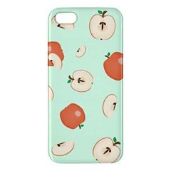 Apple Fruit Background Food Apple iPhone 5 Premium Hardshell Case