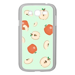 Apple Fruit Background Food Samsung Galaxy Grand Duos I9082 Case (white)