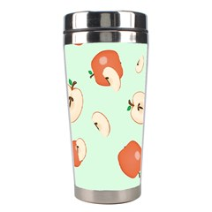 Apple Fruit Background Food Stainless Steel Travel Tumblers