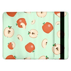 Apple Fruit Background Food Samsung Galaxy Tab Pro 12 2  Flip Case