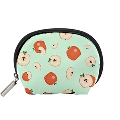 Apple Fruit Background Food Accessory Pouches (Small)