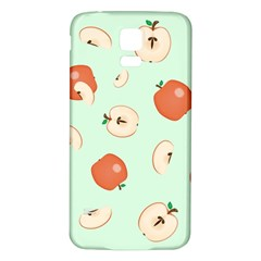 Apple Fruit Background Food Samsung Galaxy S5 Back Case (white)