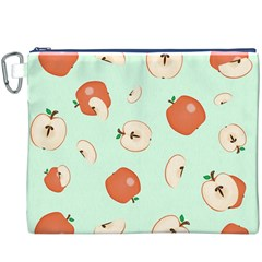 Apple Fruit Background Food Canvas Cosmetic Bag (XXXL)