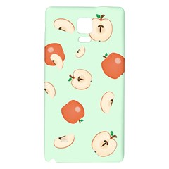 Apple Fruit Background Food Galaxy Note 4 Back Case