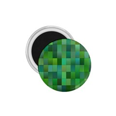Green Blocks Pattern Backdrop 1.75  Magnets